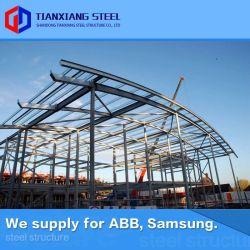 La norma ISO de precios adecuados Componentes Estructura de acero