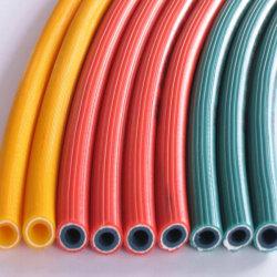 Niederdruck-blaue Luft-Gewinde-Spirale-Sauerstoff-Gas-durchbrennenschlauch