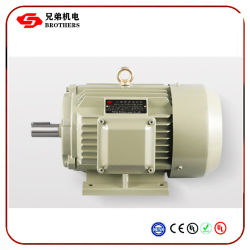Двигатель трехфазного переменного тока индукционный электродвигатель железа 330V/660V 5.5kw 7.5kw 11квт 15квт 22квт 30квт большой мощности