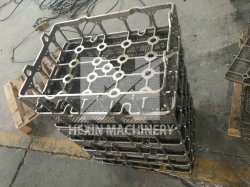 Высокая никеля и хрома сплав литые корзину, прецизионное литье