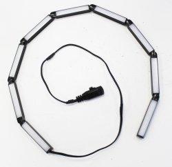 24V DC diseñado para el estante tipo Rond LED serie flexible de la luz de estante