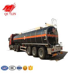 Le transport de la brai de goudron de charbon brut moyen semi-remorque-citerne