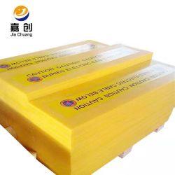 Scheda di plastica del rivestimento del polietilene del polimero della scheda dello strato UHMW-PE