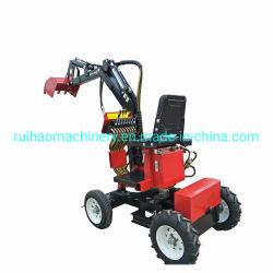 Excavatrice à roues Cheap micro mini Digger Chargeurs avec Grab Prix