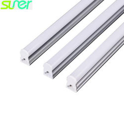 LED en verre dépoli T5 Tube linéaire 0.3m 4W 90lm/W 5000K