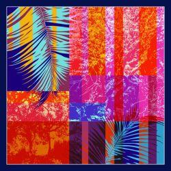 Sarong suave tejido de gasa elástica de seda bufanda mayorista