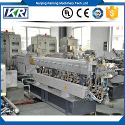 Kunststoff-Filler Masterbatch/White Masterbatch für Poly Bag/TPE-Produkte WPC Extrusion Process Hot-Melt Extrusion Equipment