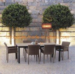 ألومنيوم [فوإكس] [تك] خشبيّة [بولووود] يثبت حديقة فناء أثاث لازم كرسي تثبيت طاولة
