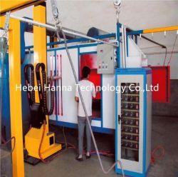 Revêtement en poudre polyester époxy Fournisseur de matériel de conduite de pulvérisation de production
