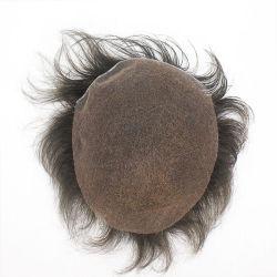 Full Lace Toupee Imbianchito Nodi High Quality Men'S Wigs