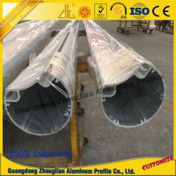 Tubo de aluminio de extrusión de aluminio del bastidor de luz LED
