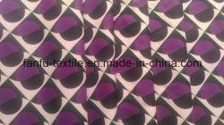 260t Full pongés le tissu de polyester à armure sergé terne