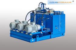 Kundenspezifische Hydraulikanlage-hydraulische Station für industrielles Gerät