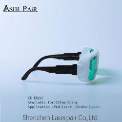 Sicurezza di laser di alta qualità per i diodi rossi Laser&808