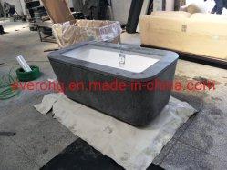 값싼 대리석 욕조 천연 청색의 석회암 욕조 욕실