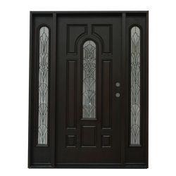 Plena luz de la puerta de INTERIOR Puertas de vidrio de altura completa de la puerta de compuestos FRP