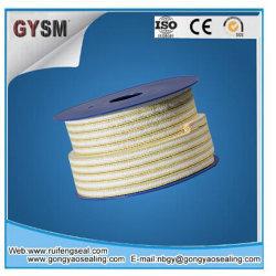 PTFE железы упаковки с арамидным волокном в углу