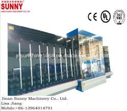 Rondella verticale piana riflettente d'isolamento di piccola dimensione Bassa-e di pulizia di vetro della costruzione e lavatrice di secchezza