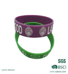 Поощрение дешевые логотип Custom силиконовый браслет