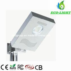 Environmentall integrado amigável LED de 8 W Luz Rua Solar/Jardim/Luz de Iluminação Exterior