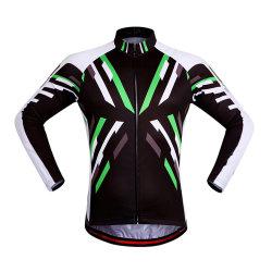 多スパンデックスの昇華印刷サイクルのジャージーのバイクのTシャツ