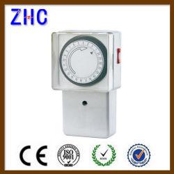 Novos Produtos da China 24 Horas IP20 Mecânica Temporizador Comutada montada na parede