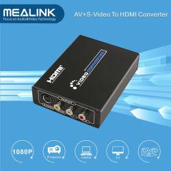 3RCA AV вход CVBS композитного и S-Video к разъему HDMI, Встроенный масштабатор гидротрансформатора