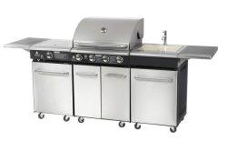 Luxuxim freiengrill-Grill-Küche-Schrank-Auslegungen