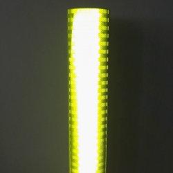 Le PMMA Diamond Grade couleur jaune-vert réflectif épaisseurs de draps pour signe de la circulation