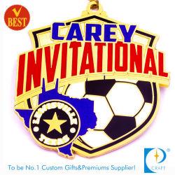 Soccer Football sur invitation personnalisée /métal or Médaille d'émail