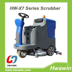 Giro elettrico di alta qualità sulla macchina dell'impianto di lavaggio del pavimento