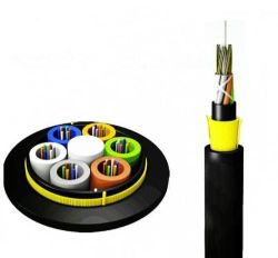 Dielektrische Selbstsupportierungs-ADSS für große Durchspannungsspanne für Netzwerk für Glasfaser-/optische Kabel im Außenbereich