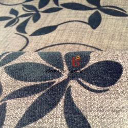 Flocage polyester Tissu de toile de lin/canapé