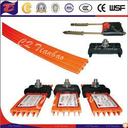 Los dispositivos móviles de la grúa flexible sistema de peine de distribución eléctricos de cobre