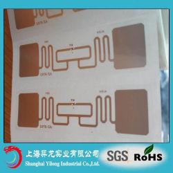 Escrituras de la etiqueta adhesivas diseñadas hermosas de la frecuencia ultraelevada de la etiqueta engomada de RFID