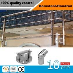 Freie niedrige Eisen-Wärme getränktes ausgeglichenes Glas-Geländer