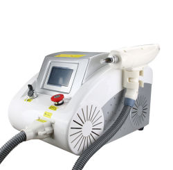 Q-ND YAG лазер углерода цедры Tattoo пигментация акне Blackhead складок кожи затяните отбеливающих омоложения кадрового состава за снятие для бровей салон машины
