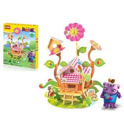 giocattolo di legno di puzzle dei giochi DIY del puzzle 3D (H8458018)