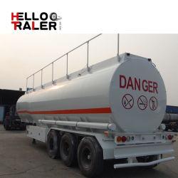 La fabrication fournissent directement le camion-citerne de remorque de LPG d'essence semi