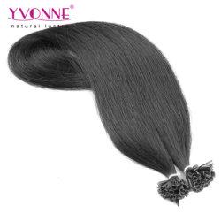 Il commercio all'ingrosso 100% della fabbrica a buon mercato diritto U-Capovolge l'estensione dei capelli