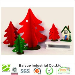 2018 Nieuwe Kerstmis Decoratie Gevoelde Gevoeld DIY die in China wordt gemaakt