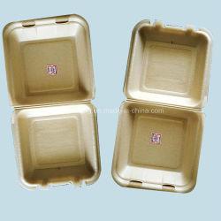 Санитарные Non-Pollution биоразлагаемой упаковки продуктов питания ланч-бокс