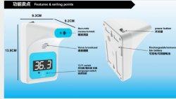 Termometro ad infrarossi wireless a parete per uso pubblico