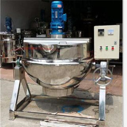 [500ل] كهربائيّة غال بخار [ستينلسّ ستيل] يسخّن [جكتد] يطبخ إناء