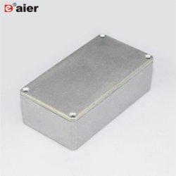 Boîtier en aluminium moulé de pédales 125b boîtier Hammond boîte de pédale