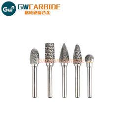 A, B, C Dtype de carbure de tungstène bavures Outils de coupe rotatif