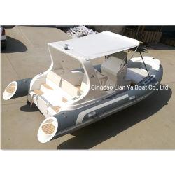 Liya costela populares 580 barcos infláveis rígidos China Racing Barcos