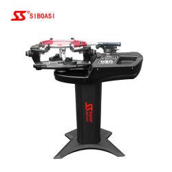 Preta Vertical o incómodo de raquetes de ténis de badminton a máquina