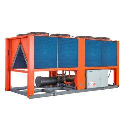 Koelsystemen van de airconditioning luchtgekoelde waterkoeler