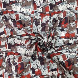 De nieuwe Manier Afgedrukte Stof van de Polyester voor de Laag van de Winter